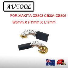 Carbon Brushes For Makita CB303 CB304 CB306 5X11X17mm 5603R 5606B 5806B AU