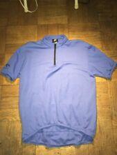 Vintage Nike Echelon Cycling Jersey Mens Large Blue