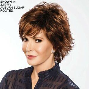 "NEW Beautiful Jaclyn Smith ""CALLA"" Wig in Auburn Sugar Rooted 33/24#4 NWT"