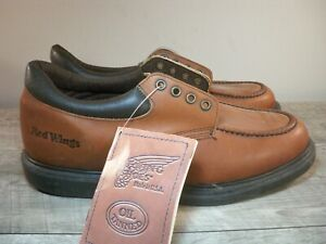New With Tags Red Wing 105 Oil Tanned Leather Oxford Lace Up Soft Toe Shoes 11.5