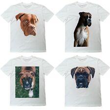 Boxer Dog T Shirt - Animal & Dog Lovers - Premium Quality Digital Print