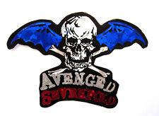 Avenged Sevenfold Music Reflective Sticker Decal Skull 86N