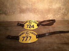 More details for vintage market porter enamel arm badge sign london covent garden spitalfields
