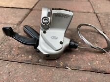 Rare Retro Shimano Deore Xt M750 Right Hand 9 Speed Triggger Shifter With Cable