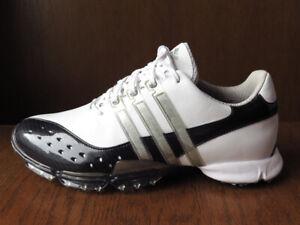 Adidas Tour 360 XT Gray White Golf Shoes 9.5 NEW! ⛳️