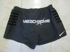 Short rugby porté STADE TOULOUSAIN noir NIKE collection Meca Chrome XXL