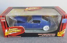 NIB JOHNNY LIGHTNING WHITE WL 1965 MUSTANG BLUE 1/24 DIECAST MUSCLE CAR VHTF