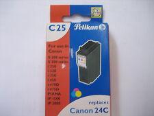 Pelikan COLOR  Tinte C25 Gr.944C    #339317 pixma ip2000 BCI-24C for Canon 24C