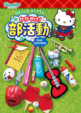 Re-Ment Miniature Sanrio Hello Kitty Club Activities Full set of 8 pcs