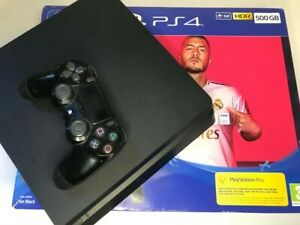 Sony PlayStation 4 500GB - Jet Black