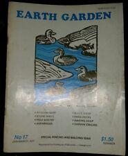 Earth Garden Magazine No 17 Jan-March 1977