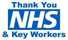 More details for thank you nhs & key wokers flag (5ft x 3ft) | fast dispatch | charity