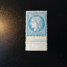 Cérès N°37 Line D Surround Signed Brun Neuf Luxe Mnh Value 50%)