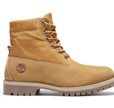 mens timberland roll top boots Size 8M Color Wheat Nubuck