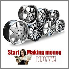 ALLOY WHEELS Website Earn £439.25 A SALE|FREE Domain|FREE Hosting|FREE Traffic