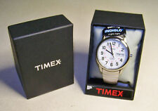 Men's Timex T20461 FM Indiglo Easy Reading  Silvertone Expansion Band Watch