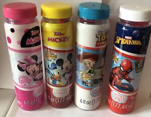 Disney & Marvel  Theme Bubbles 6oz ea.
