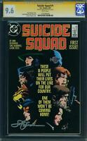 Suicide Squad #1 CGC 9.6 NM+ SS by creator John Ostrander