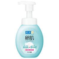 [ROHTO HADALABO] Tamagohada AHA+BHA Mild Peeling FOAM Face Wash Cleanser 160ml