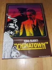 CHINATOWN - EA - Kinoplakat A1 ´74 - JACK NICHOLSON Faye Dunaway ROMAN POLANSKI