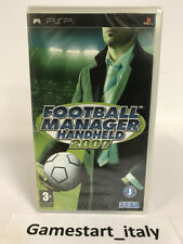 FOOTBALL MANAGER HANDHELD 2007 (SONY PSP) NUOVO SIGILLATO NEW SEALED PAL