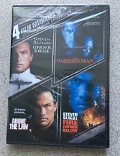 4 Film Favorites: Steven Seagal Collection DVD Sealed!