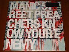 MANIC STREET PREACHERS KNOW YOUR ENEMY LP *RARE* AUDIOPHILE PRESS VINYL EU New