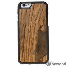 Luxury Apple iPhone 6 6S Rosewood Vibe Natural Wood Phone Cover Case Premium Bew