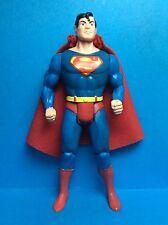 Vintage Kenner/toybiz Accessoire-SUPERMAN 'S RED Repro cape avec collerette...