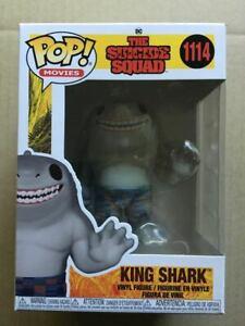 ~ Pop Vinyl ~ The Suicide Squad ~ 1114 ~ King Shark ~ DC Super Heroes ~ NEW~