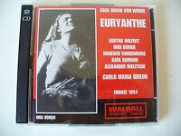 Euryanthe - Carl Maria von Weber, Firenze 1954, Doppelalbum 2 CD (Box 39)