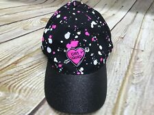 Justice Girls One Size Velcro Back Adjustable Hat With Logo New!