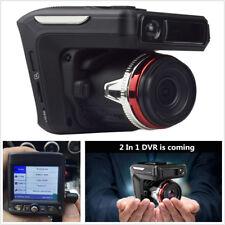 New 2in1 HD 1080P Car DVR Camera Recorder Radar Laser Speed Detector Dash Cam