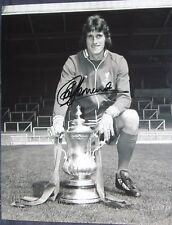 Ray Clemence signed Liverpool 10x8