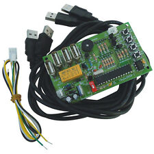 JY-18A Coin Operated USB Time Control Timer Board Power Supply For arcade game