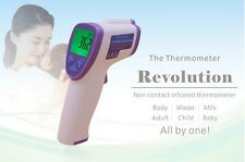 NonContact Body Forehead IR Infrared Thermometer Digital LCD Temperature Baby FT