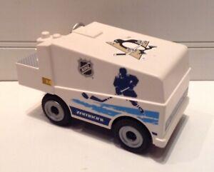 2015 Geobra Playmobil NHL Ice Hockey Zamboni Machine Vehicle