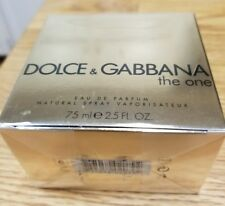 Authentic  DOLCE & GABBANA THE ONE eau de PARFUM 2.5OZ NEW IN SEALED BOX !!