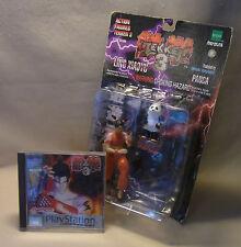 Vtg 90s Bundle Game Merchandise Tekken 3 Spiel LING XIAOYU Action Figur 1998 OVP