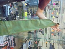 """Airifle gun bag/case green with carrying strap and handles 49""""s long."""