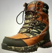 NEW BUSHELL XLANDER MEN BROWN MOSSY OAK WATERPROOF INSULATED HAUNTING BOOTS 11