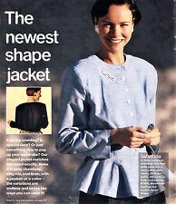 Adult CROP or PEPLUM JACKET & KIDS DUNGAREES Prima Sewing Pattern 10 12 14 16 18