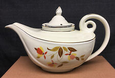 Hall Autumn Leaf Alladin Tea Pot w/Infuser