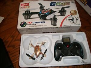 F180C Mini RC Quadcopter Drone W/ HD Camera Video/photo 2.4GHz 6 Axis Gyro