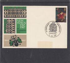 GB 1967 Edinburgh New Town Bicentenary special cover & special pmk FDC