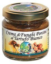 Crema ai funghi porcini e tartufo bianco - 80 gr - Sulpizio Tartufi