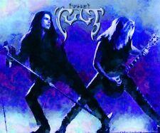 "The Cult Poster Art 20x30 Large Print ""Rain"" Ian Astbury Billy Duffy"