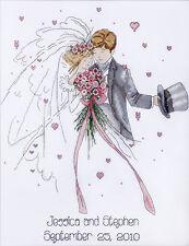 Cross Stitch Kit ~ Design Works Love Couple Wedding Anniversary Record #DW2589