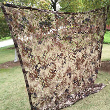 Hunting Camping Military Camouflage Net Woodlands Leaves Camo netting Cover 2x3m