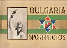 BULGARIA-ZIGARETTENFABRIK - ALBUM OF 272 SPORTS CARDS INCLUDING BABE RUTH CARD